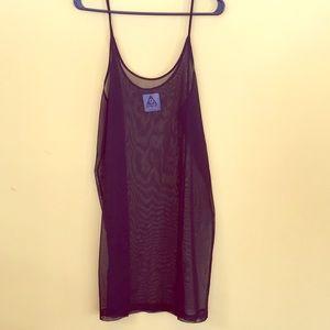 UNIF Mesh Dress